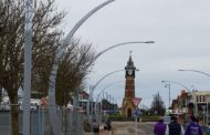 pictures released of new £400,000 Skegness lighting scheme